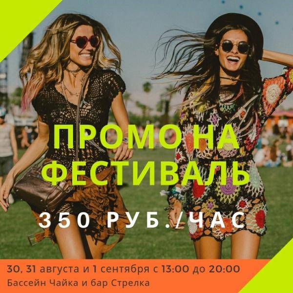 Девушки промоутеры на MUSIC FESTIVAL  Проект от мобильного оператора